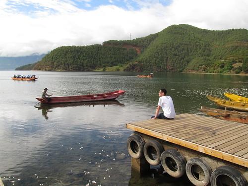 泸沽湖码头