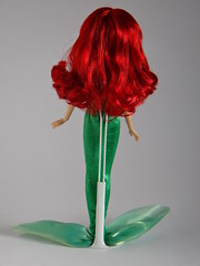 Ariel (The Little Mermaid) - 2012 Classic Disney Princess 12'' Doll - Deboxed - Rear View