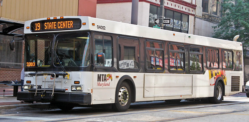 D40LF in downtown Baltimore