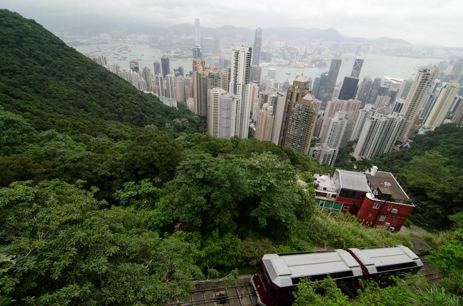 peak tram viewpoint