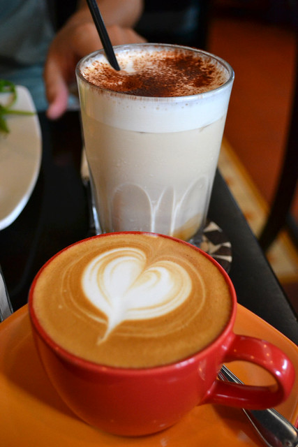 Flat White and Mocha, Antipodean Café, Bangsar