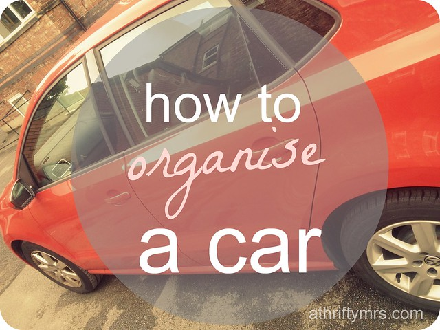 how to organise a car