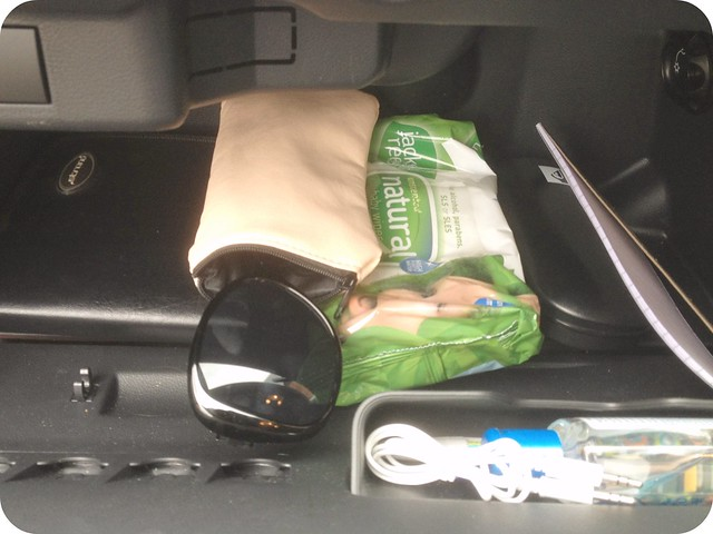 organised glove box