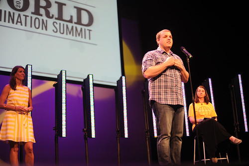 Adam Baker at World Domination Summit 2012