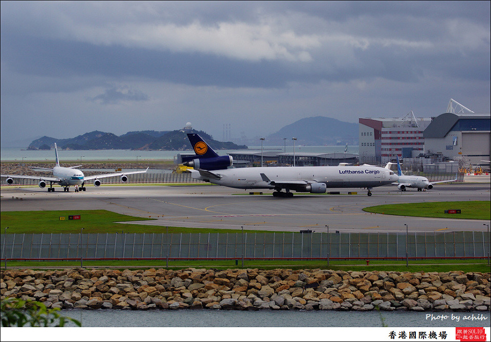Lufthansa Cargo / D-ALCF / Hong Kong International Airport