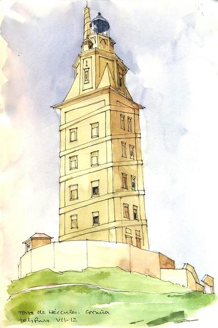 Torre de Hércules. La Coruña.
