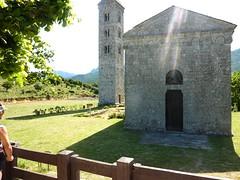Campanile et église de Carbini