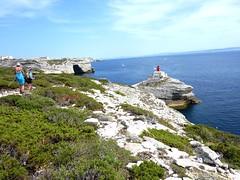 Falaises de Bonifacio et phare de la Madonetta