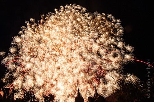 Feuerwerk Alte Brücke Schlossbeleuchtung Heidelberg by HDValentin