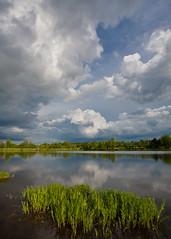 14 Jul. 2012. Silver Lake, Prince William County, VA. Storm Chasing.