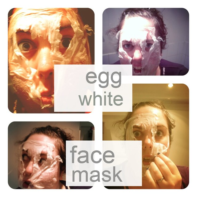 egg white face pack