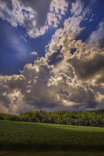 clouds canon virginia cornfield day cloudy hdr 60d