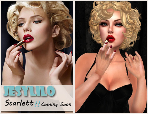 Coming soon Scarlett skin and Shape <3