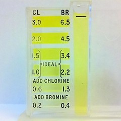 Chlorine test of Chandler tap water