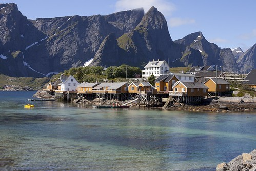 Lofoten Islands - Norway by dirk huijssoon