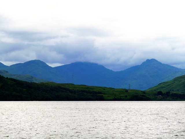 Mountainous Scenery at Northof Loch Katrine