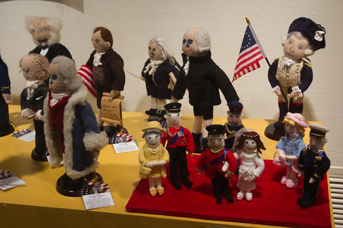 Knitted US Presidents & the Royal Wedding