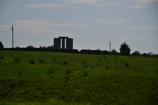 Guidestones in the distance