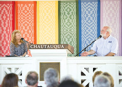 Fr. Greg Boyle Speaks with Krista Tippett at the Chautauqua Institution