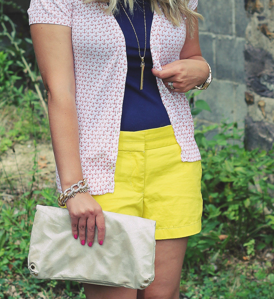 Yellow, Navy, and Anchors