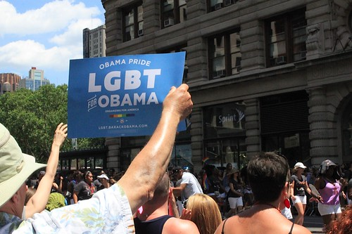 Canvassing at NYC Pride 6.24