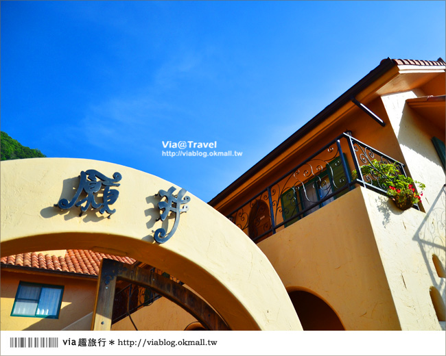 【台東民宿】台東願井民宿~在藍天下遇到南法風的浪漫莊園2