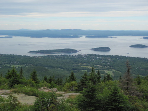 Bar Harbor from Cadillac Mt