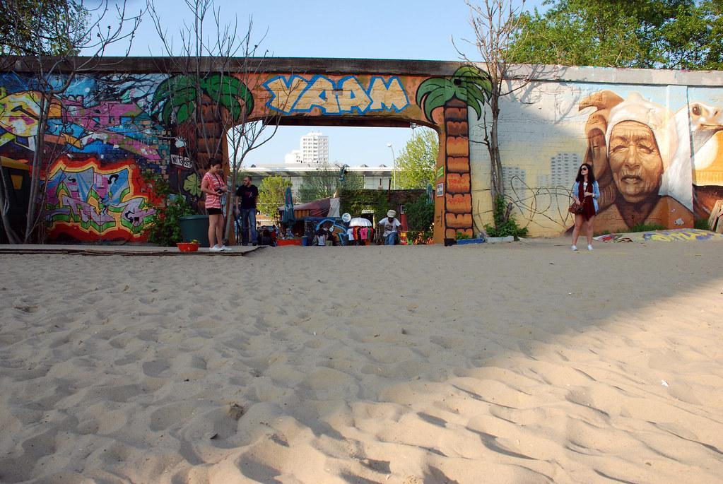 Yaam, un rincón de Jamaica en Berlín