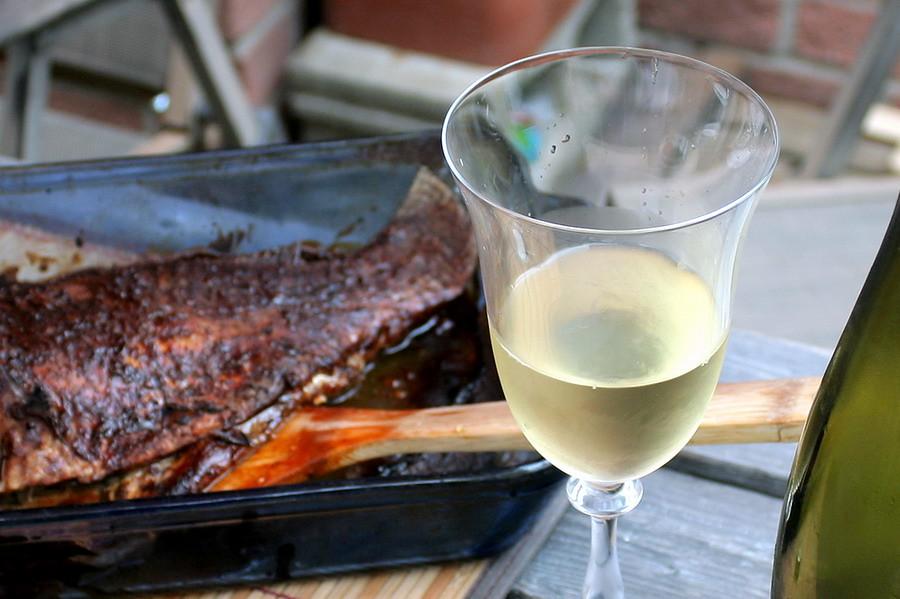 homemade Thai fish