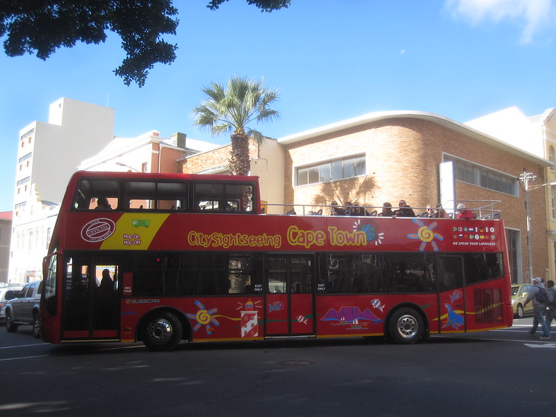Cape Town South Africa Tour Bus