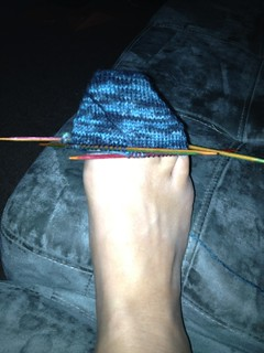 My first sock.