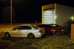 Traffic Ford FPV F6 Turbo and GN 204 Commodore SS