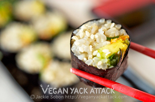 ... sushi at home? What are some of your favorite (vegan) sushi fillings