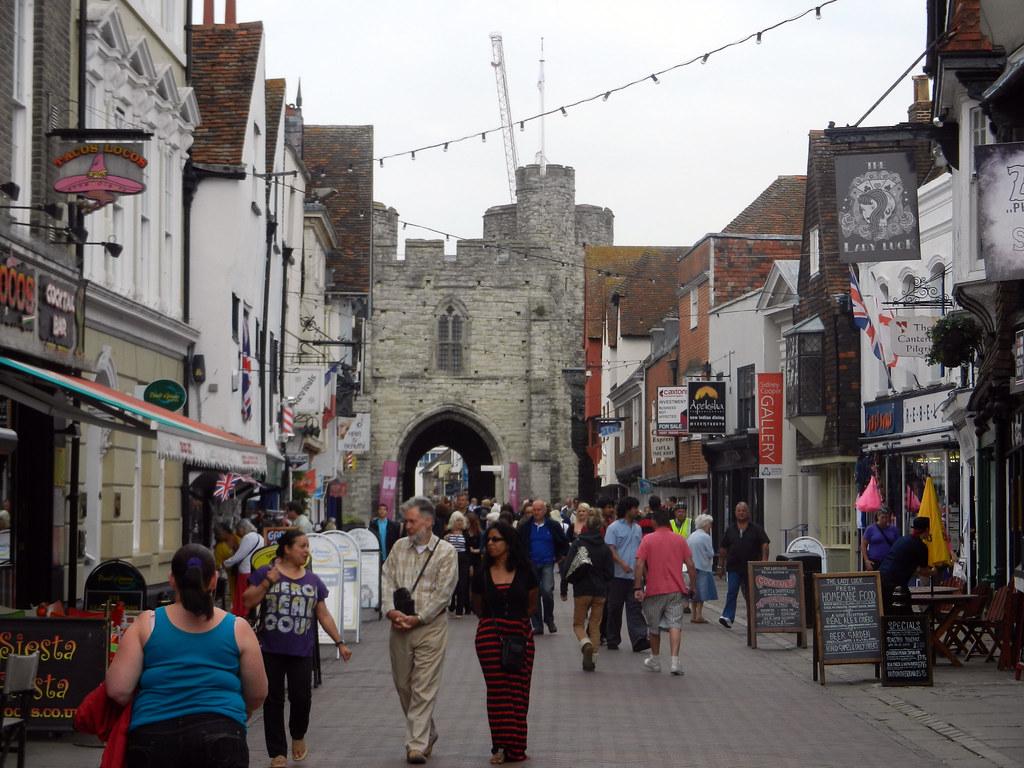 Westgate, Canterbury, Kent, England, UK