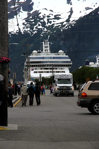 Skagway - Walking Back to the Ship