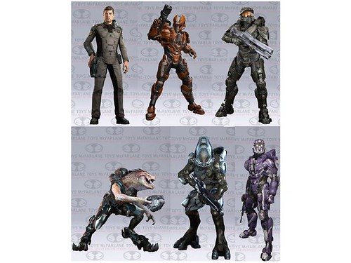 New Batch of Halo 4 Toys, Reveals New Characters