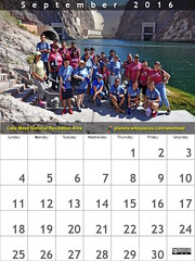 September 2016 Calendar: Lake Mead National Recreation Area aka @lakemeadnps #FindYourPark #EncuentraTuParque