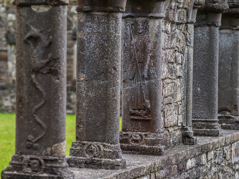 at Jerpoint Abbey, Ireland