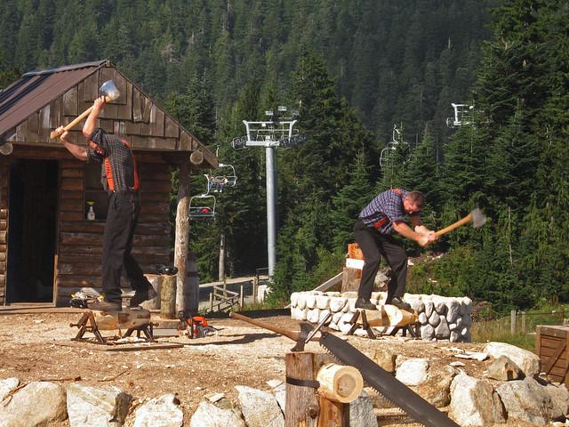 The Lumberjacks - log, Canon DIGITAL IXUS 750