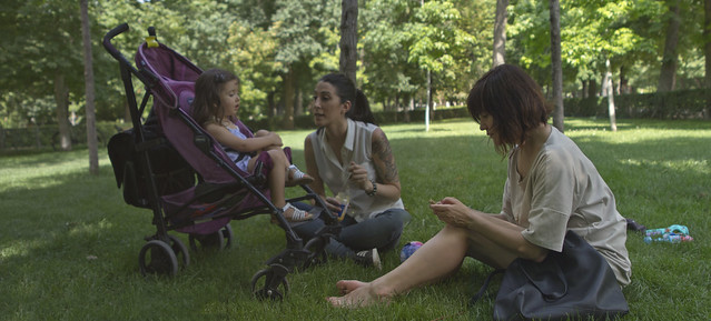 Maite and fam in Parque Retiro, Madrid (2016)