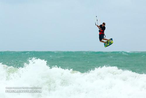 Kite at Nai Harn Beach, Phuket, Thailand
