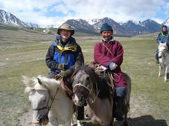 Trekking Reise Mongolei.