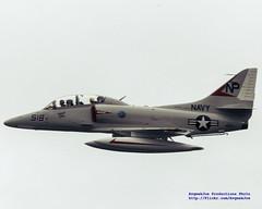 TA-4J Skyhawk in Kodachrome