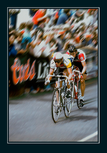 Greg Lemond, Alex Stieda, Coors Classic