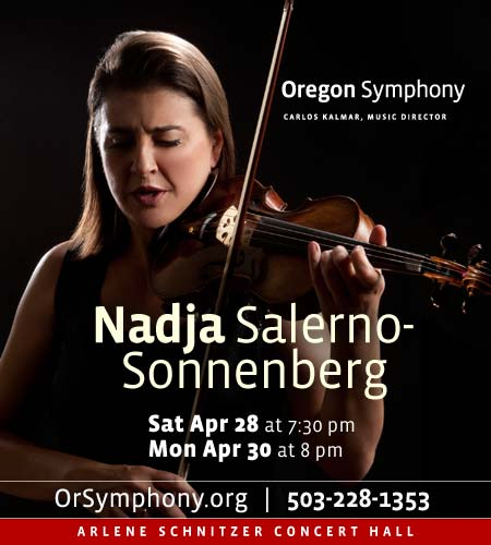 Nadja @ Oregon Symphony