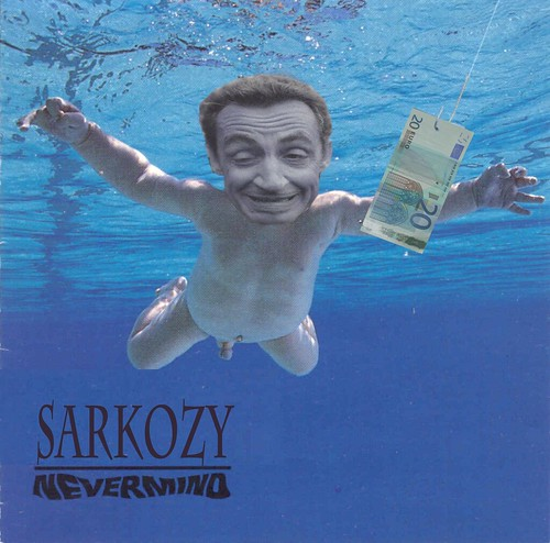SARKOZY NEVERMIND by Colonel Flick