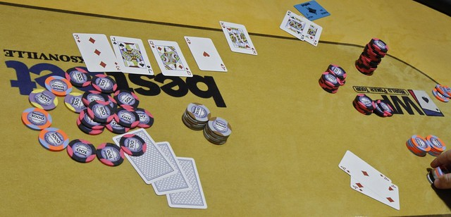 2104 Danny Shiff Doubles Thru Tony Parille