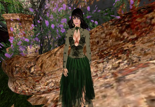 ! Glitterati ! - Anaida Mini Dress (Gipsy Skirt) by Cherokeeh Asteria