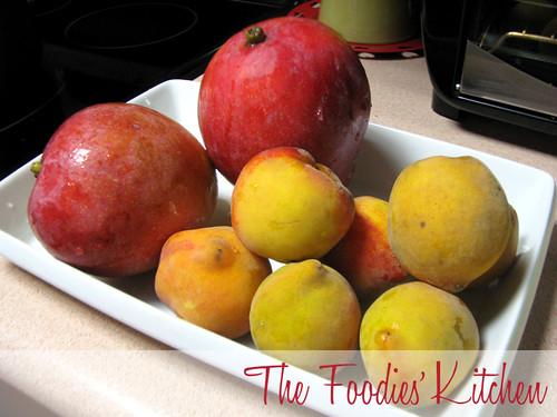 Peach, Mango & Vanilla Jam
