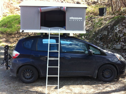 IMG_0282 by thewwkayaker on Flickr & Fit Tent - Unofficial Honda FIT Forums